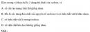 Bài 3.5 trang 25 Sách bài tập (SBT) Hóa học 11 Nâng cao