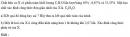 Bài 4.21 trang 34 Sách bài tập (SBT) Hóa học 11 Nâng cao