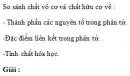 Bài 4.27 trang 35 Sách bài tập (SBT) Hóa học 11 Nâng cao