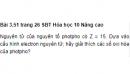 Bài 3.51 trang 26 Sách bài tập (SBT) Hóa học 10 Nâng cao