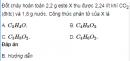 Bài 1.3 trang 3 Sách bài tập (SBT) Hoá 12 Nâng cao