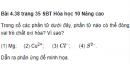 Bài 4.38 trang 35 Sách bài tập (SBT) Hóa học 10 Nâng cao