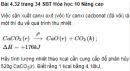 Bài 4.32 trang 34 Sách bài tập (SBT) Hóa học 10 Nâng cao