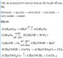 Bài 2.42 trang 16 Sách bài tập (SBT) Hoá 12 Nâng cao