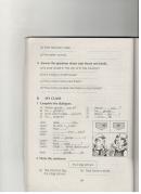 B. My class - Unit 4 trang 46 sách bài tập Tiếng Anh 6