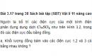 Bài 3.17 trang 38 Sách bài tập (SBT) Vật lí 11 Nâng cao