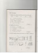 Test yourself - Unit 5 trang 72 sách bài tập (SBT) Tiếng Anh 6