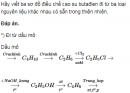 Bài 4.18 trang 31 Sách bài tập (SBT) Hoá 12 Nâng cao