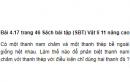 Bài 4.17 trang 46 Sách bài tập (SBT) Vật lí 11 Nâng cao