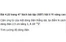 Bài 4.22 trang 47 Sách bài tập (SBT) Vật lí 11 Nâng cao