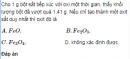 Bài 7.18 trang 61 Sách bài tập (SBT) Hóa 12 Nâng cao.