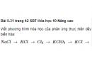 Bài 5.31 trang 42 Sách bài tập (SBT) Hóa học 10 Nâng cao