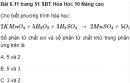 Bài 6.11, 6.12, 6.13 trang 51, 52 Sách bài tập (SBT) Hóa học 10 Nâng cao