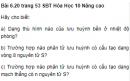 Bài 6.20 trang 53 Sách bài tập (SBT) Hóa học 10 Nâng cao