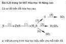 Bài 6.25 trang 54 Sách bài tập (SBT) Hóa học 10 Nâng cao