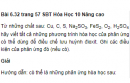 Bài 6.32 trang 57 Sách bài tập (SBT) Hóa học 10 Nâng cao