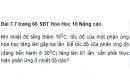Bài 7.7 trang 66 Sách bài tập (SBT) Hóa học 10 Nâng cao