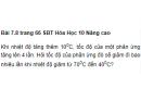 Bài 7.8 trang 66 Sách bài tập (SBT) Hóa học 10 Nâng cao