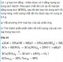 Bài 7.45 trang 61 Sách bài tập (SBT) Hoá 12 Nâng cao.