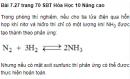 Bài 7.27 trang 70 Sách bài tập (SBT) Hóa học 10 Nâng cao