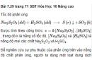 Bài 7.29 trang 71 Sách bài tập (SBT) Hóa học 10 Nâng cao