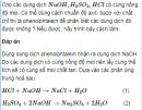 Câu 8.28 trang 78 Sách bài tập (SBT) Hóa Nâng cao