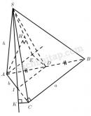 Câu 63 trang 126 Sách bài tập Hình học 11 Nâng cao