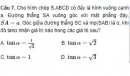 Câu 7, 8, 9, 10, 11, 12 trang 133, 134 Sách bài tập Hình học 11 Nâng cao