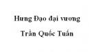 Soạn văn 10: Hưng Đạo đại vương Trần Quốc Tuấn