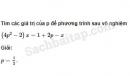 Câu 3.9 trang 59 SBT Đại số 10 Nâng cao