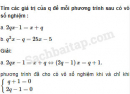 Câu 3.10 trang 60 SBT Đại số 10 Nâng cao