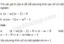 Câu 3.11 trang 60 SBT Đại số 10 Nâng cao