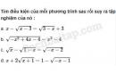 Câu 3.1 trang 58 SBT Đại số 10 Nâng cao