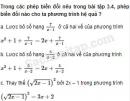 Câu 3.5 trang 59 SBT Đại số 10 Nâng cao