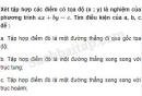 Câu 3.34 trang 63 SBT Đại số 10 Nâng cao