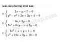Câu 3.50 trang 66 SBT Đại số 10 Nâng cao