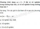 Câu 3.54 trang 67 SBT Đại số 10 Nâng cao