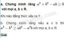 Câu 4.1 trang 102 SBT Đại số 10 Nâng cao