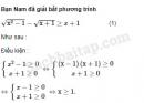 Câu 4.38 trang 108 SBT Đại số 10 Nâng cao