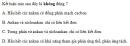 Bài 5.26 trang 45 Sách bài tập (SBT) Hóa học 11 Nâng cao