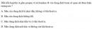 Bài 5.31 trang 46 Sách bài tập (SBT) Hóa học 11 Nâng cao