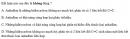 Bài 6.16 trang 49 Sách bài tập (SBT) Hóa học 11 Nâng cao