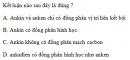 Bài 6.37 trang 53 Sách bài tập (SBT) Hóa học 11 Nâng cao