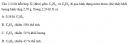 Bài 6.41 trang 54 Sách bài tập (SBT) Hóa học 11 Nâng cao
