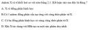 Bài 6.5 trang 47 Sách bài tập (SBT) Hóa học 11 Nâng cao