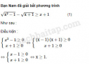 Câu 4.35 trang 107 SBT Đại số 10 Nâng cao
