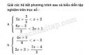 Câu 4.36 trang 108 SBT Đại số 10 Nâng cao