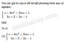 Câu 4.39 trang 108 SBT Đại số 10 Nâng cao