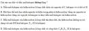 Bài 8.1 trang 61 Sách bài tập (SBT) Hóa học 11 Nâng cao