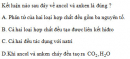Bài 8.18 trang 64 Sách bài tập (SBT) Hóa học 11 Nâng cao